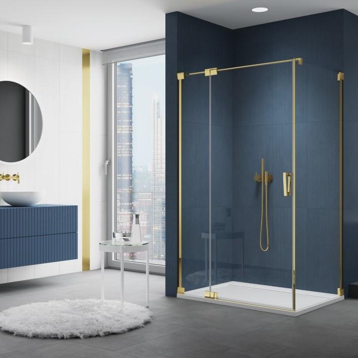 Zlaté sprchové kouty Gold line